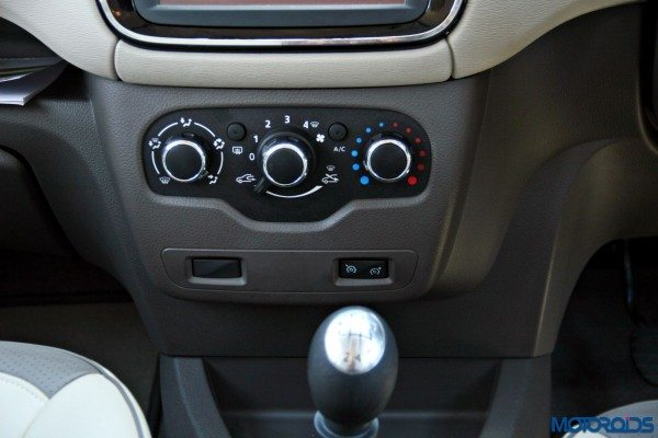2015 Renault Lodgy - HVAC Controls