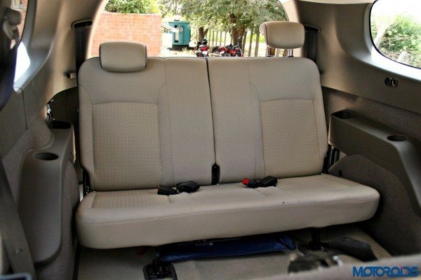 2015 Renault Lodgy - Third Row Bench Seat