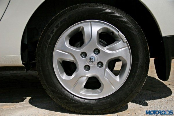 2015 Renault Lodgy - Wheel