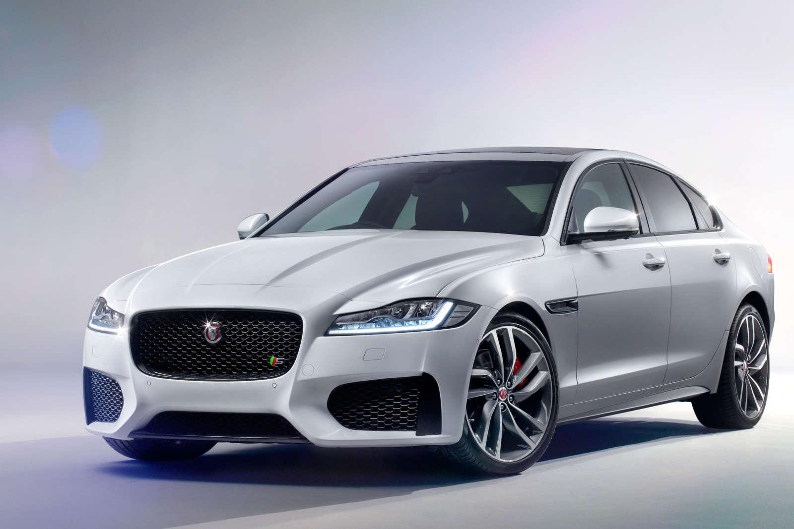 All new Jaguar XF 3