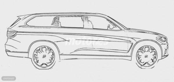 BMW X7 Sketch (1)