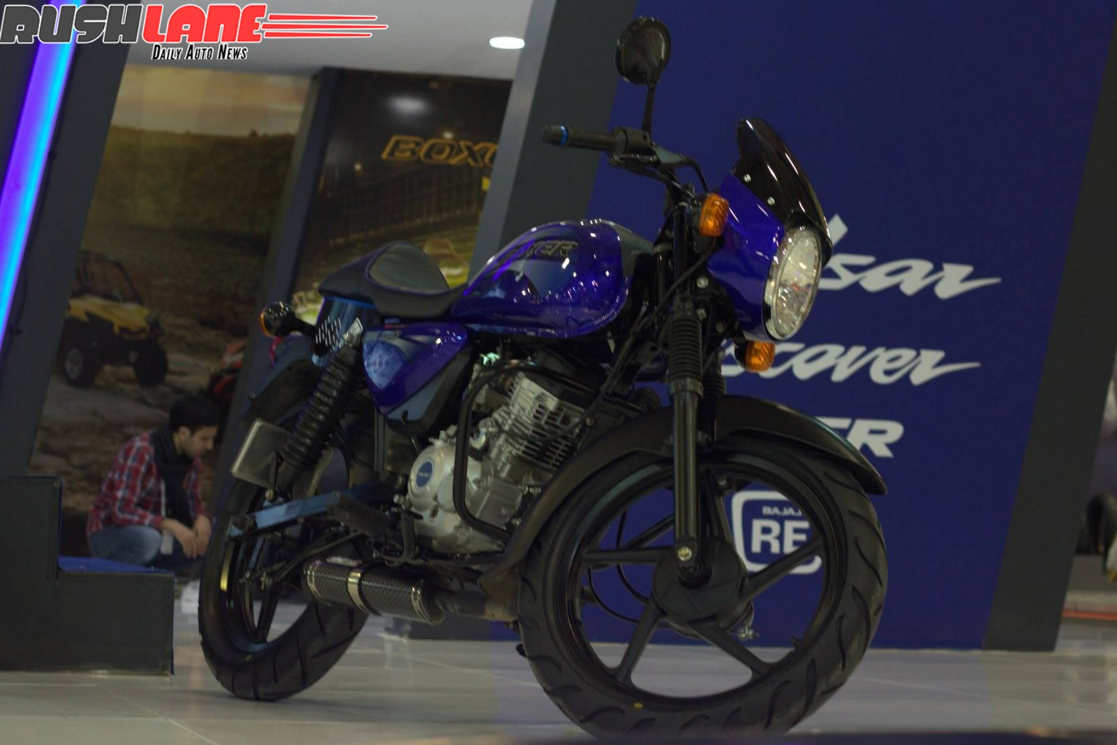 Bajaj Boxer 150 Cafe Racer Unveiled Motoroids