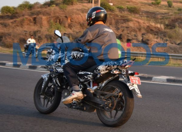 Bajaj Pulsar 200 Adventure Sport Spied in Pune (1)