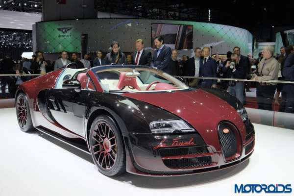 Bugatti Veyron La Finale - 2
