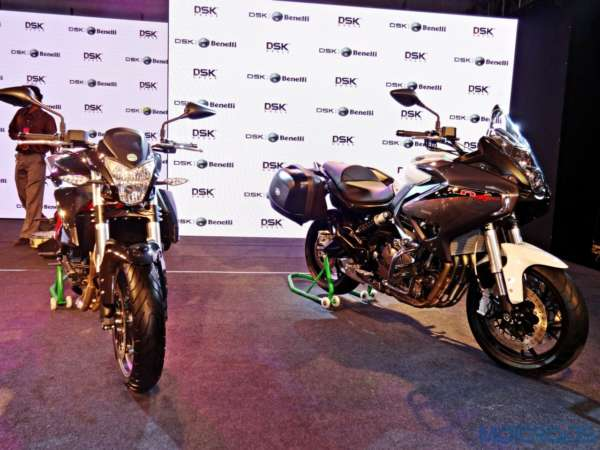 DSK-Benelli India Launch - TNT 600i and 600GT - 4
