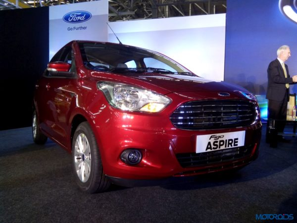 Ford Figo Aspire India unveil