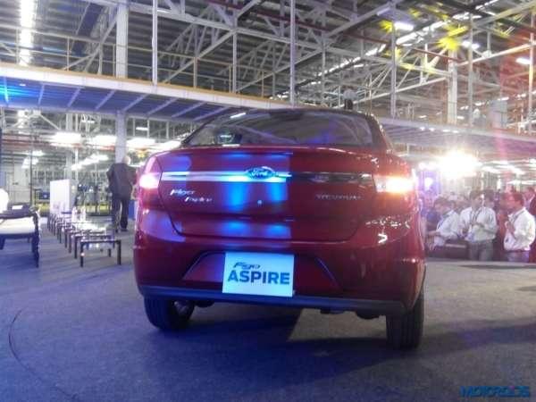 Ford Figo Aspire India unveil (9)