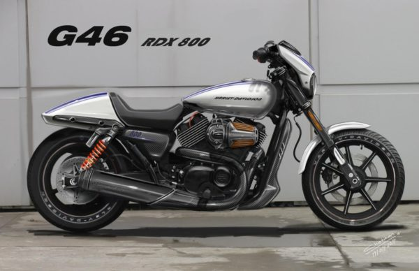 Harely-Davidson - RDX 800 - Chetan Shedjale