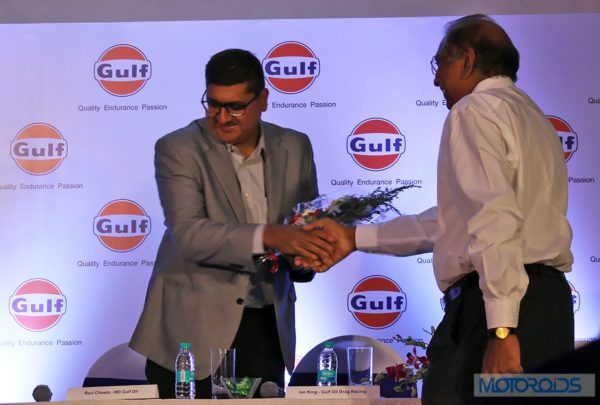 MD of Gulf Oil Lubricants, Ravi Chawla