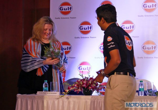 Caroline Parker - Gulf Oil International