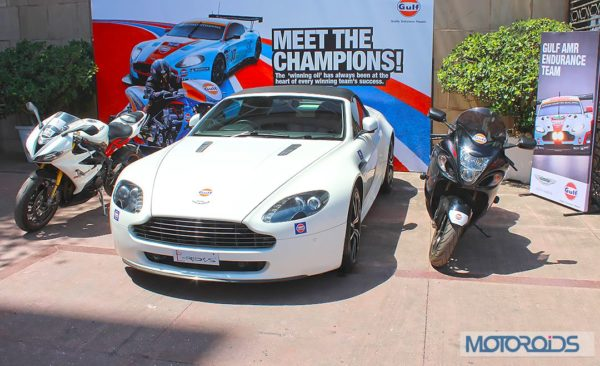 Aston Martin event by Gulf Oil