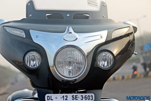 Indian Chieftain front fairing(48)