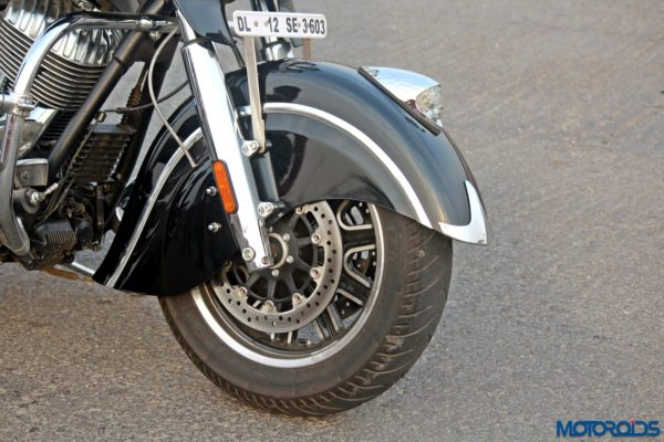 Indian Chieftain front fender