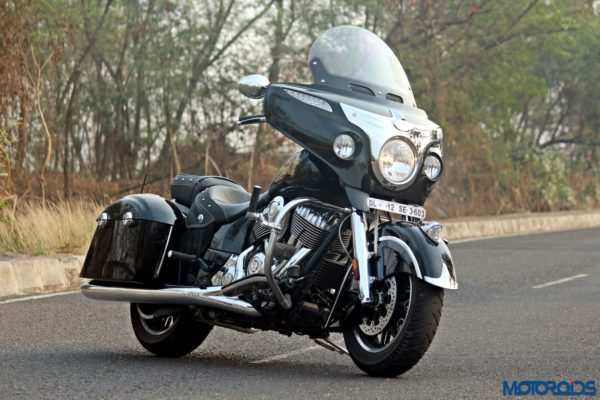 Indian Chieftain front three quarters view (90)
