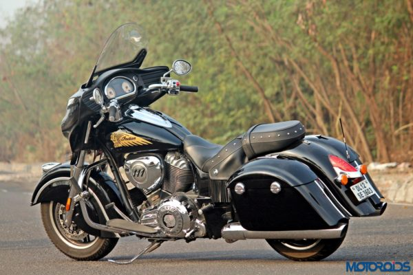 Indian Chieftain left side view(92)