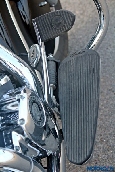 Indian Chieftain right side footboard(63)