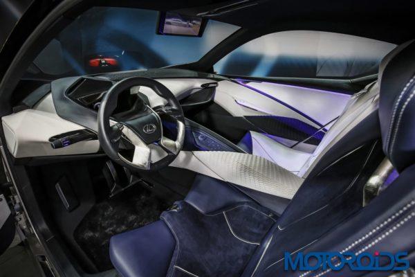 Lexus LF SA Concept Geneva Motor Show 2015 (1)