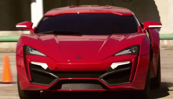 Lykan Hypersport Furious 7 featurette