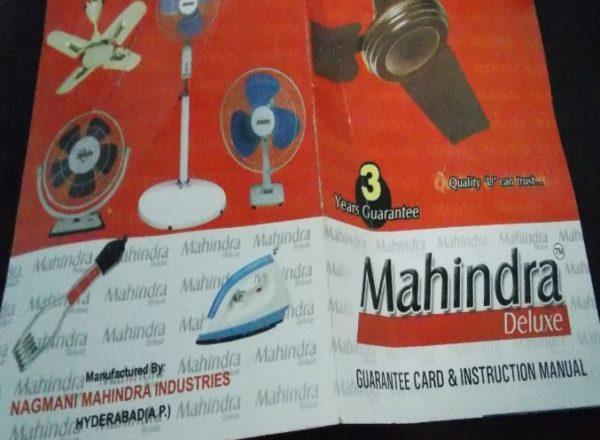 Mahindra raids illegal Manufacturer (1)