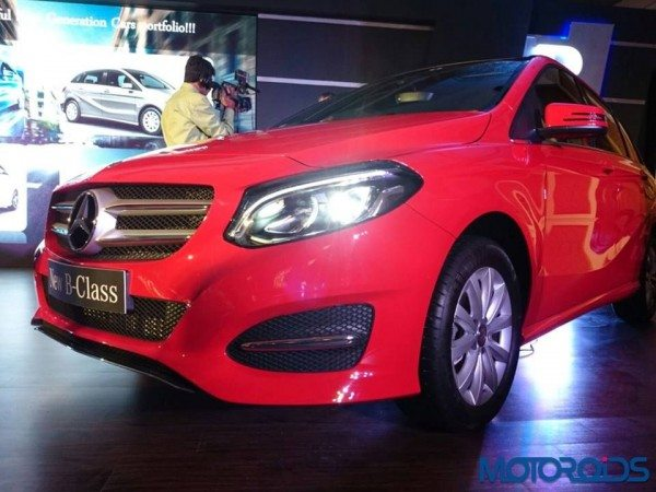 Mercedes-Benz B Class facelift launched in India at INR 27.95 lakhs (2)