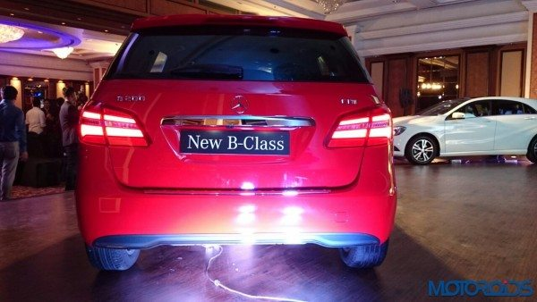 Mercedes-Benz B Class facelift launched in India at INR 27.95 lakhs (20)