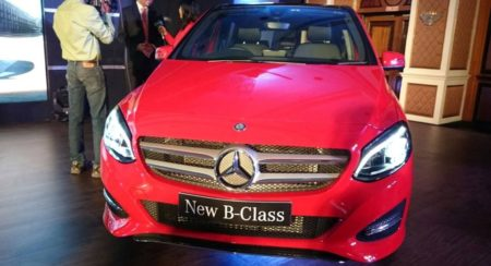 Mercedes-Benz B Class facelift launched in India at INR 27.95 lakhs (6)