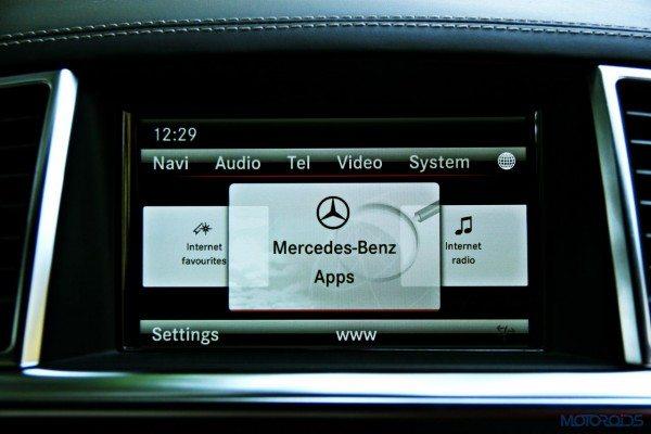 Mercedes-Benz ML 63 AMG COMAND screen (135)
