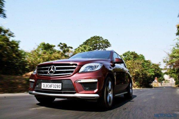 Mercedes-Benz ML 63 AMG Front left three quarters (3)