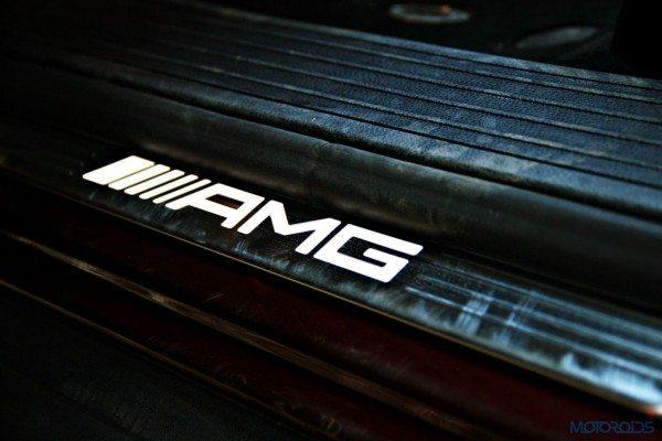Mercedes-Benz ML 63 AMG door sill (112)