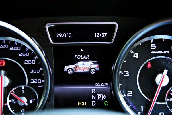 Mercedes-Benz ML 63 AMG instrument cluster(142)