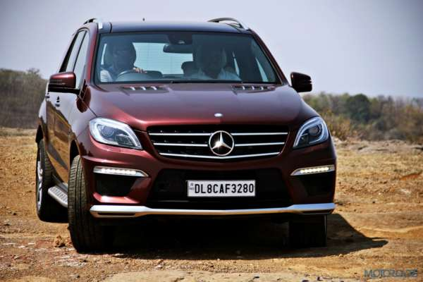 Mercedes-Benz ML 63 AMG off the road (61)