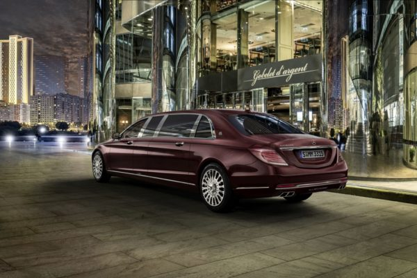 Geneva Motor Show 2015 Mercedes Maybach S600 Pullman Is Sinfully