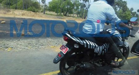 Exclusive: New TVS Victor spied up close