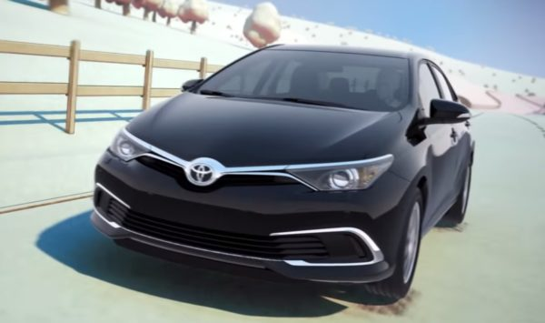 New Corolla front