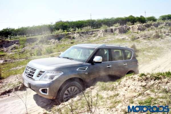 Nissan Patrol off road (6)