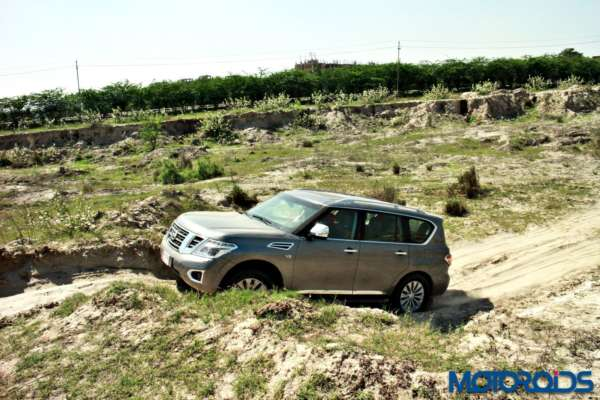 Nissan Patrol off road (9)