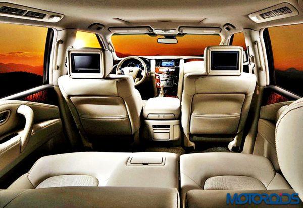 Nissan patrol interior (6)