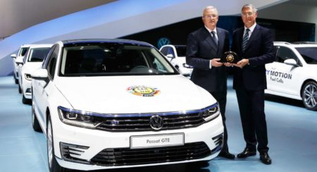 "The new Volkswagen Passat is Europe's ""Car of the Year 2015"""