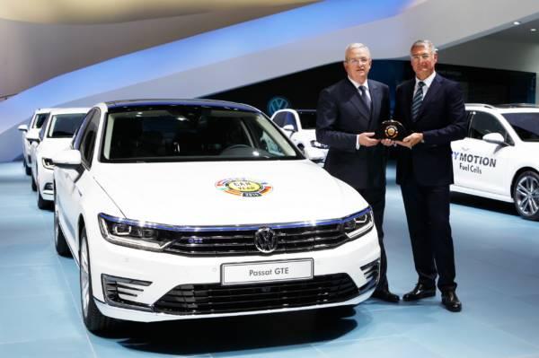 Der neue Passat ist Car of the Year 2015