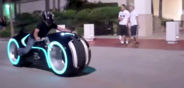 Video Meet The Real Life Tron Legacy Motorcycle That