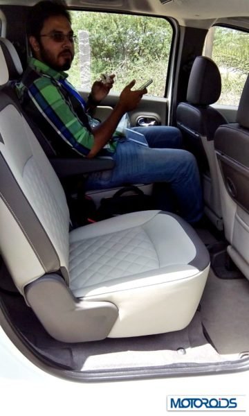 Renault Lodgy India captians seats