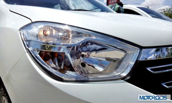 Renault Lodgy India headlamps