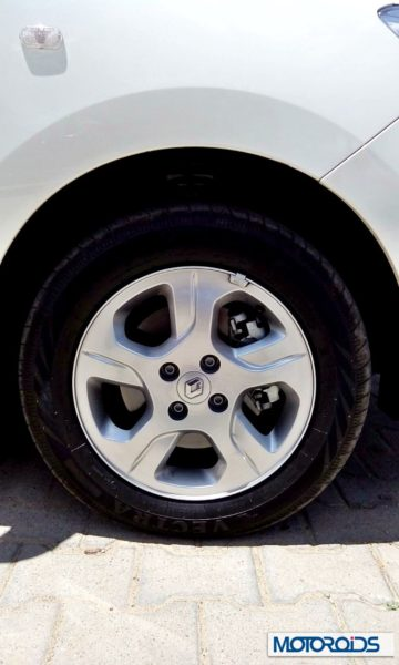 Renault Lodgy India wheels