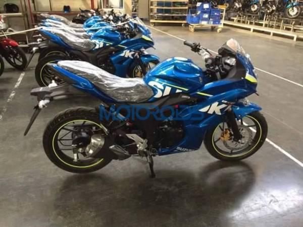 Suzuki Gixxer SLK - Exclusive Image