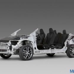 Toyota TNGA modular platform officially unveiled