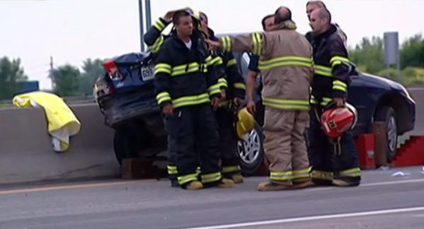 Accident in Canada