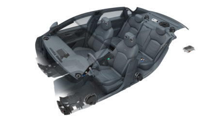 Cadillac CT6 Bose system