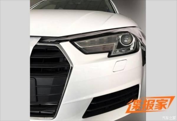 Spy photo of 2016 Audi A4