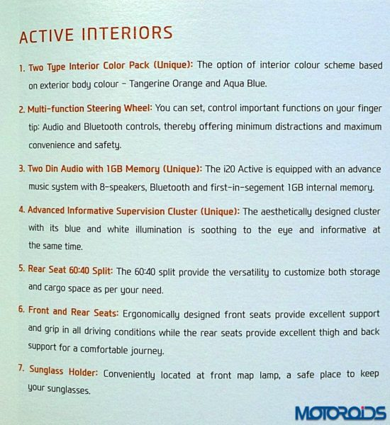 hyundai i20 Active features and specifications (2)