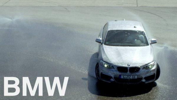 Autonomous M235i drifting